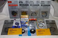 Lot of 13 Photo 55mm Filters and other items  see pics  Close out sale NR 55