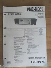 Schema SONY - Service Manual Personal Minidisc System PMC-MD55 PMCMD55