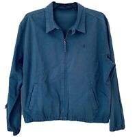 Polo By Ralph Lauren Full Zip Harrington Jacket, Blue, Men's XLarge XL