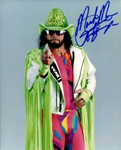 Randy Savage (Macho Man) 11x8.5 Autographed Photo Awesome Print