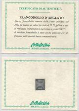 OLANDA - 2001 Francobollo d'argento singolo + busta primo giorno (2)