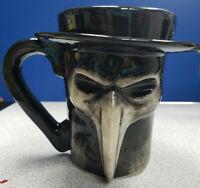 RARE WRAITH PLAGUE DOCTOR COFFEE MUG BY DETHSKULPT NOT DEATH WISH