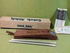 Vintage Cutlery World Crock Stick-2 rods Knife and scissor sharpener