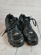 S.A. Gear Tyrant Black Football Cleats Boys Size 3.5 Youth Shoes