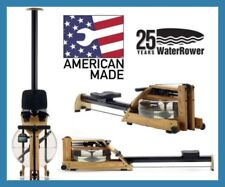 WATERROWER A1  Water Rower - Latest 2019 Model - FREE AB BENCH (Valued at $299)