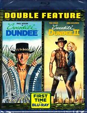CROCODILE DUNDEE 1 & 2 BLU RAY 2 DISC SET PAUL HOGAN