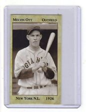 Mel Ott '26 New York Giants rookie year, New Orleans near-mint+ condition