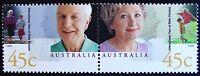 1999 AUSTRALIA INTERNATIONAL YEAR OF OLDER PERSONS SE-TENANT PAIR *MUH*!!