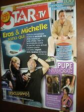 Star Tv.MICHELLE HUNZIKER & EROS RAMAZZOTTI,ANDREW HOWE, SERENA AUTIERI,jjj