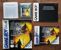 Alone In The Dark: The New Nightmare (Game Boy Colour, 2001) REGION FREE