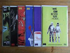 We Can Never Go Home #1-5 + FCBD (1st Print) Black Mask Complete Run