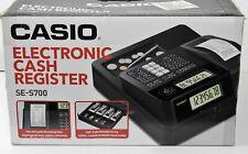 Casio SE-700S Electronic Cash Register - w/manual EUC! Rear LCD Display