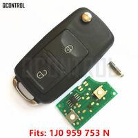 Car Remote Control Key Fob For SEAT 1J0959753N 5FA009259-55 433MHZ Keyless Entry