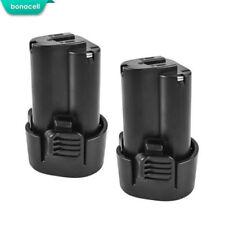 2 Pack 10.8V 1500mAh Battery For Makita BL1013 BL1014 DF030D TD090D 194550-6 GM