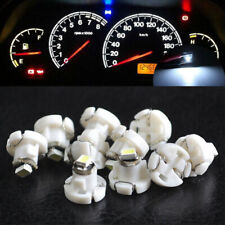 10x T4 T4.2 Neo Wedge 1-SMD LED Cluster Instrument Dash Climate Bulb White