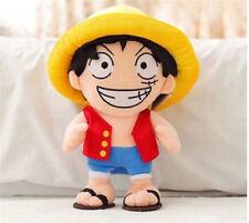 "14"" One Piece Monkey·D·Luffy Plush Toy Anime Japan Dolls Children Boys Xmas Gift"