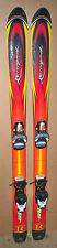 110 cm Rossignol Rebel junior skis bindings + mondo 21 (kids 2) ski boots [nc]