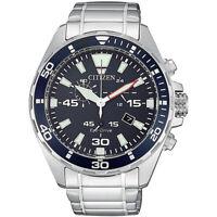 Orologio Cronografo Uomo Citizen AT2431-87L