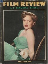 FILM REVIEW 1948 F. Maurice Speed Edition MacDonald Hardcover Couverture Dure