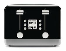 KENWOOD kMix 4 Slice Toaster,Black Gift Grill Kitchen Home Reheat Defrost Slot A