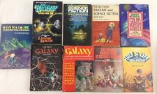9 Science Fiction Anthology Best of Galaxy Starlight Hugo Winners Fantasy Lot