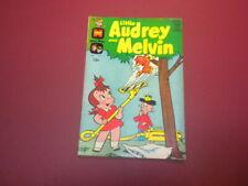LITTLE AUDREY AND MELVIN #5 Harvey Comic 1963 cartoons tv