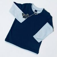 BabyBugz Baby Boys Blue Skate Layered T-shirt Top Age 12-18 Months Long Sleeve