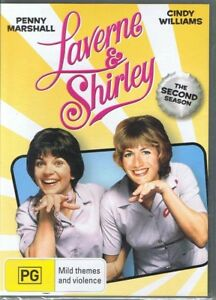 THE LAVERNE & SHIRLEY SHOW Complete 2nd Season 2 Two NEW & SEALED DVD Free Post