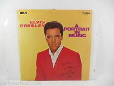 ELVIS PRESLEY LP 33 GIRI A PORTRAIT IN MUSIC SRS 558 RCA
