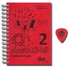 Das Ding 2 Kultliederbuch - mit Original Dunlop Plektrum - DUX77 - 9783934958777