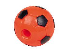 Nobby 60316 TPR Snack - Fußball 12 5 Cm orange