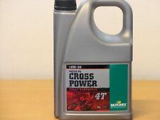 15,38€/l Motorex Cross Power 4T 10W/50 4 L vollsyn Premium Motoröl
