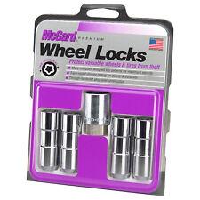 McGard Wheel Lock Nut Set - 4pk. (Cone Seat Duplex) 9/16-18 / 7/8 Hex / 2.5in.