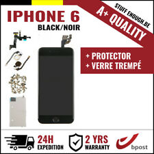 A+ LCD TOUCH SCREEN SCHERM ÉCRAN ASSEMBLY BLACK NOIR +VERRE TREMPÉ FOR IPHONE 6