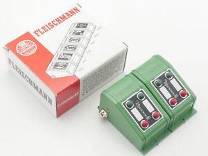 Fleischmann 6927 2x Signal-Stellpult for Professional-Track Like Nip 1611-08-67