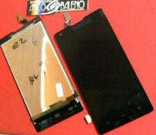 Kit DISPLAY LCD+TOUCH SCREEN per HUAWEI ASCEND G700-U10 VETRO VETRINO NERO