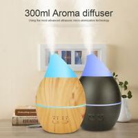 300ml Aroma Humidifier Diffuser Aromatherapy Spa Air Mist Purifier Essential Oil
