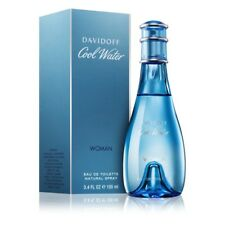 Davidoff Cool Water 3.4oz  Women's Eau de Toilette 100ml NEW Gift Spray Vial NIB