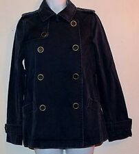 Old Navy Women's Military Style Jacket Blue - Size S - 100% Cotton NEW with TAGS