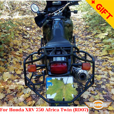 For Honda XRV 750 Africa Twin rack luggage system XRV 750 RD07 side carrier,Gift