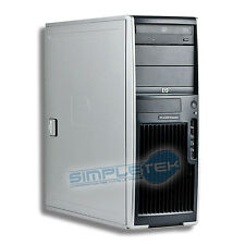WORKSTATION HP XW4300, WIN XP ORIGINALE, HD 80GB, RAM 1GB, SCHEDA VIDEO DEDICATA