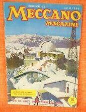 MECCANO MAGAZINE N° 33 -- Juin 1956 - Jeux Olympiques Australie - Pic du midi