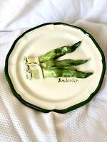 Eva Gordon Ceramic 3D Plate Green Onions - Artist Signed