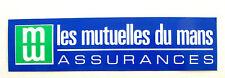 Autocollant LES MUTUELLES DU MANS - Assurances -  Sticker collector