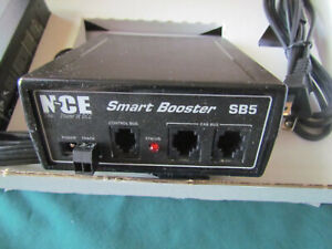 NCE #5240027  SB5 Smart Booster – for NCE DCC