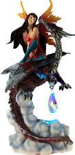 Fierce Companion 21 cm LED Light Up Dragon Fairy Ornament Figurine - Crystal