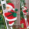 Electric Climbing Ladder Santa Claus Gift Music Xmas Tree Doll Ornament Kids Toy