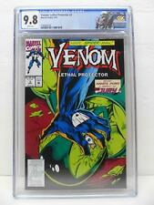 Venom Lethal Protector 3 - Spider-Man Appearance - Custom Label - CGC Graded 9.8