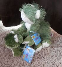 Webkinz Frog LARGE & SMALL Lot - New with Sealed Unused Codes