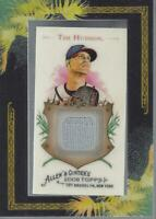 2008 Topps Allen and Ginter Relics #TH Tim Hudson Jersey - NM-MT